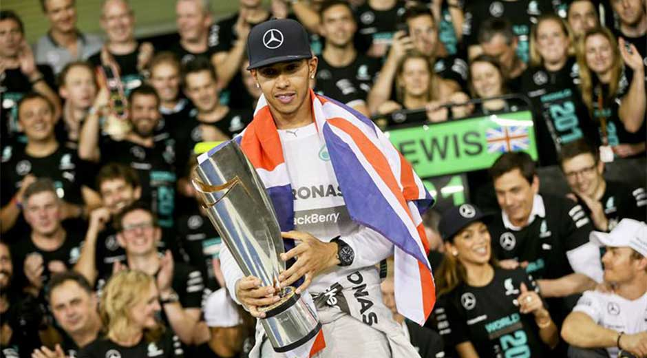 Hamilton gana el mundial