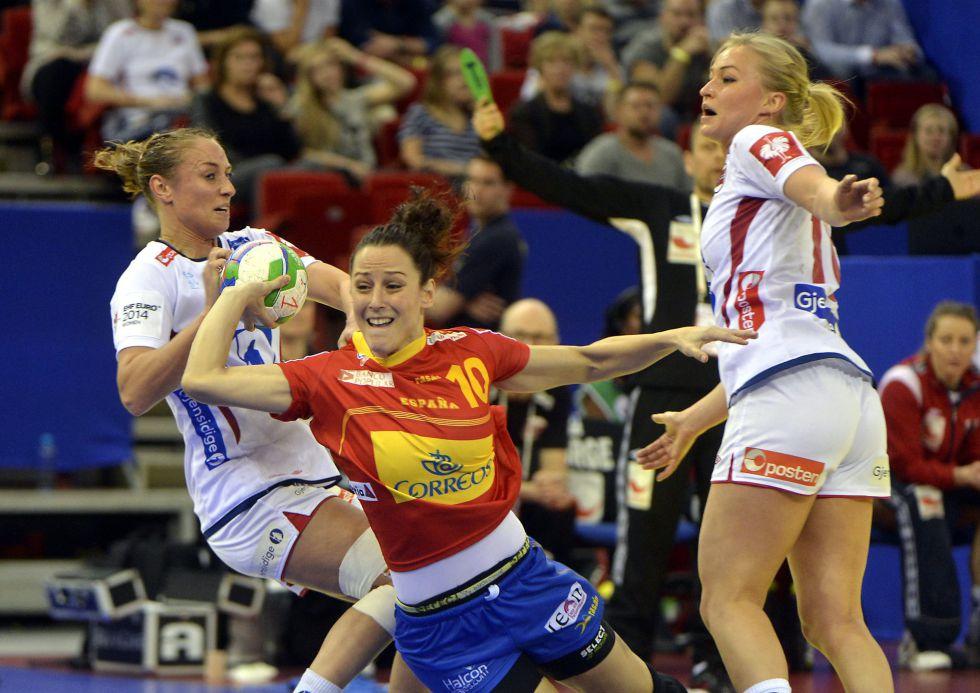 España pierde la final del Europeo de balonmano