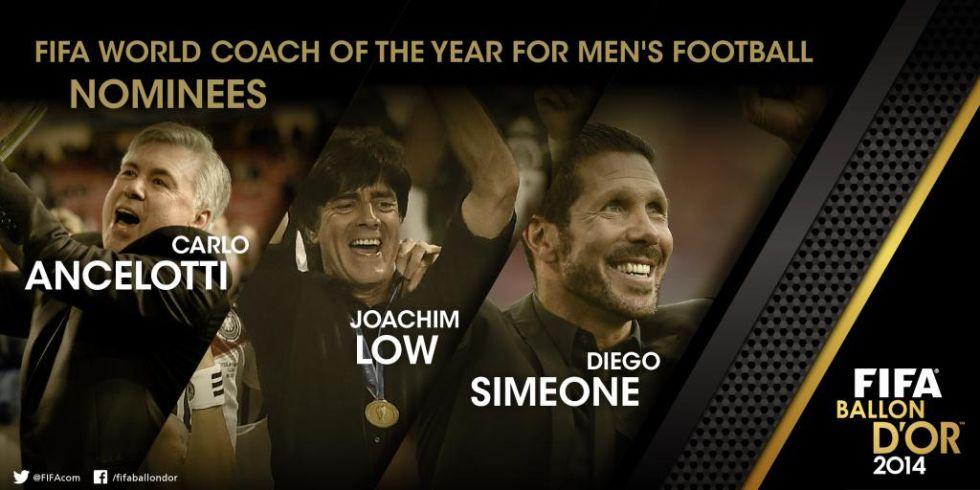 Mejor entrenador 2014