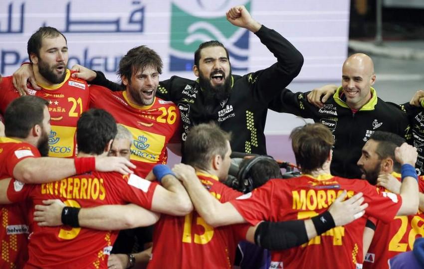 España gana a Túnez