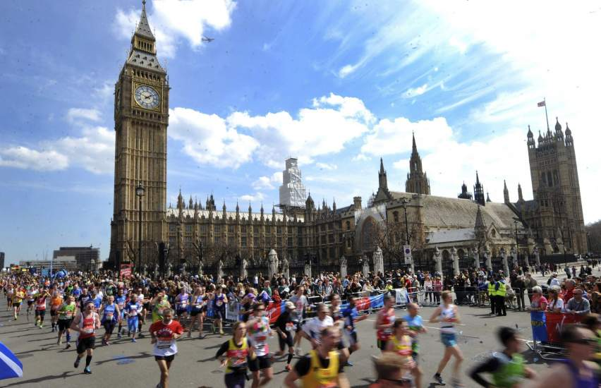 Maratón de Londres 2015