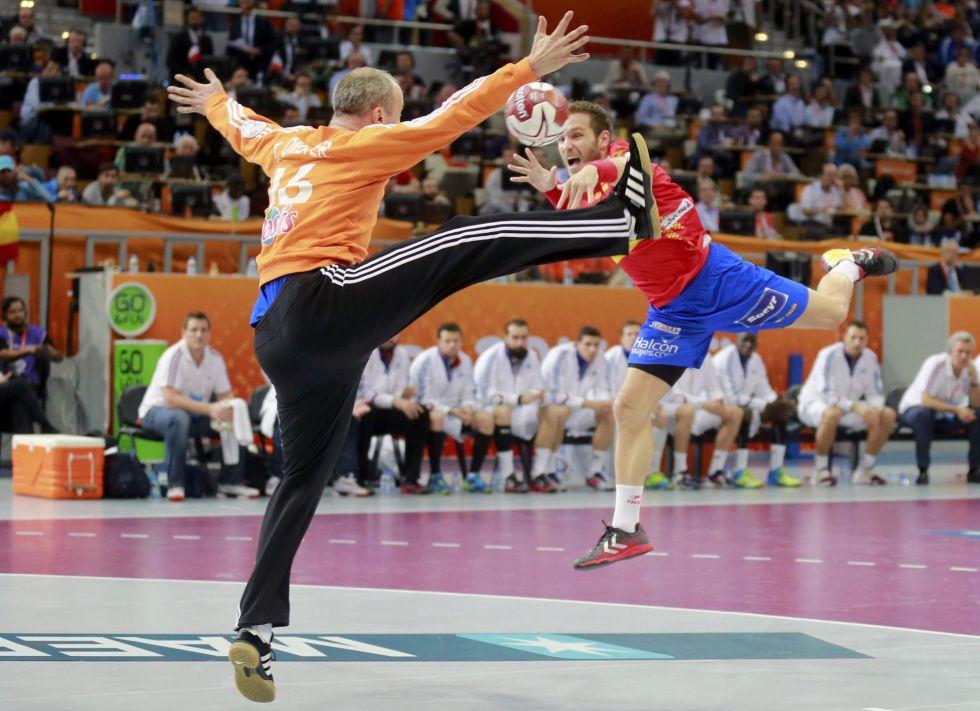 España eliminada por Francia del Mundial de Balonmano