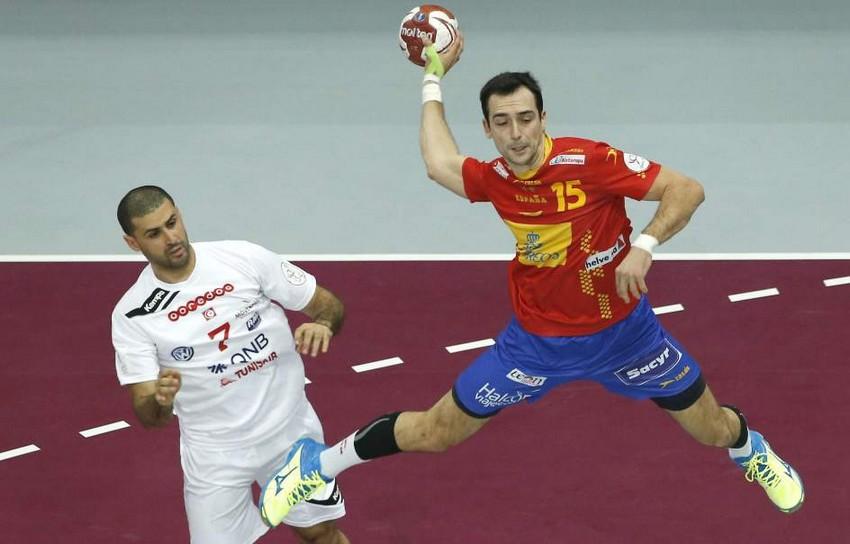 España gana a Túnez en octavos