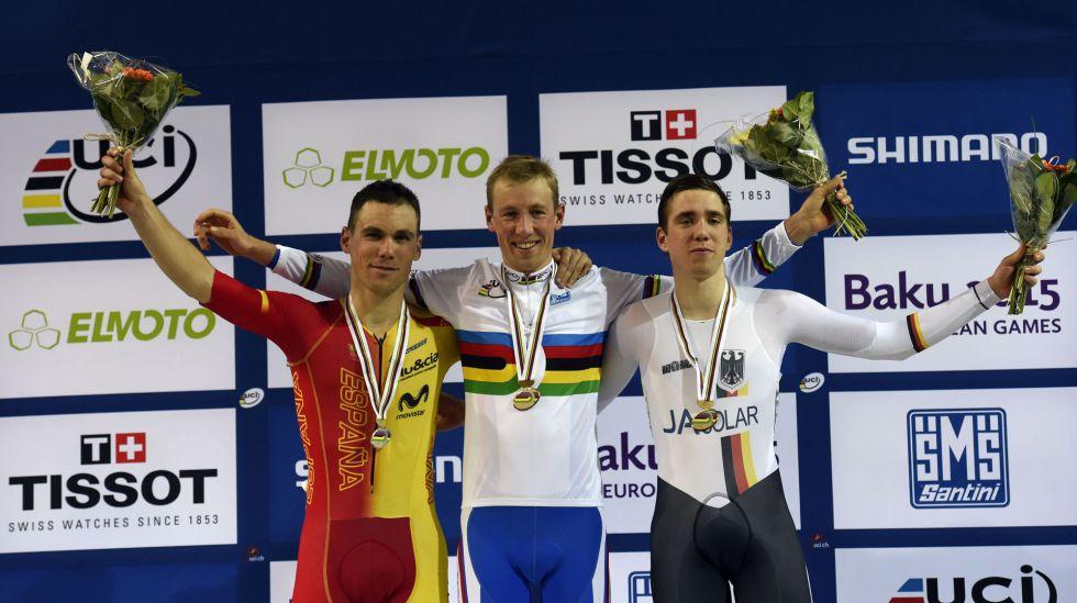 Mundial de ciclismo en pista, dos medallas para España