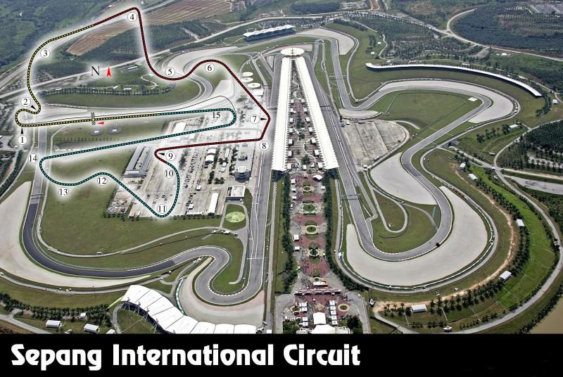 GP de Malasia en el circuito de Sepang