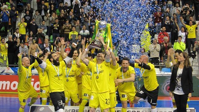 Jaén campeón de Copa de fútbol sala