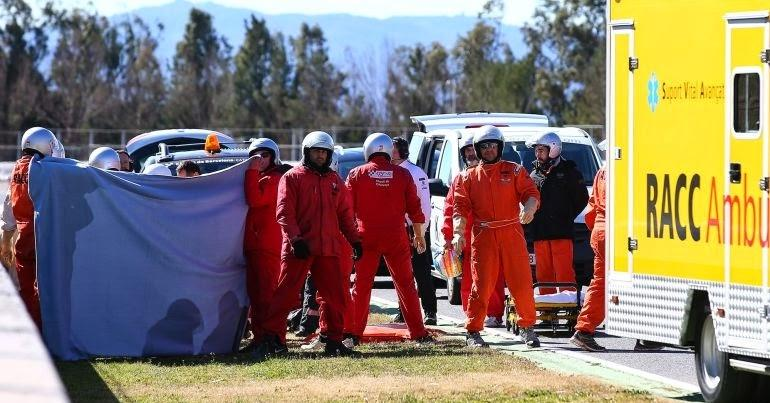 Aclaraciones del accidente de Alonso