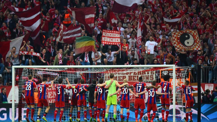 Barcelona y Bayern