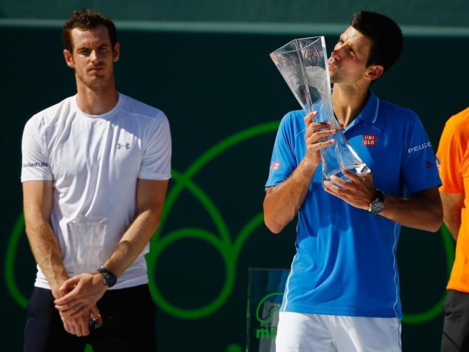 Djokovic gana a Murray en Miami
