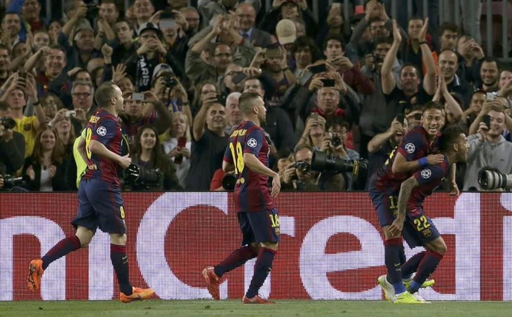 Barcelona y Bayern en las semifinales de la Champions League