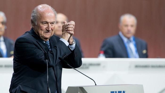 Blatter elegido presidente de la FIFA