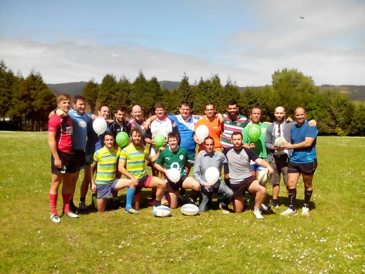 El rugby apoya a los enfermos con hernia diafragmática