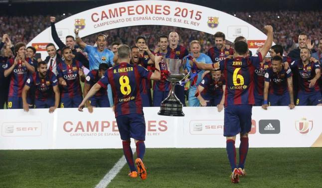 Barcelona campeón de Copa