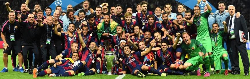 Barcelona campeón de la Champions