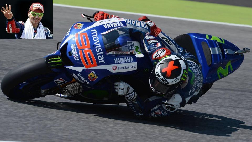 Lorenzo gana el GP de Cataluña