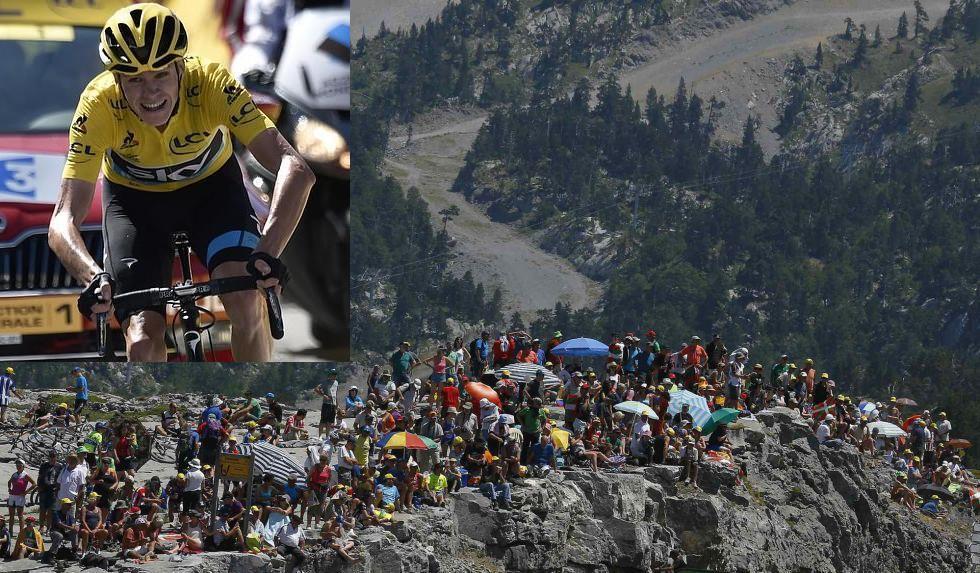 Froome destroza la clasificación del Tour
