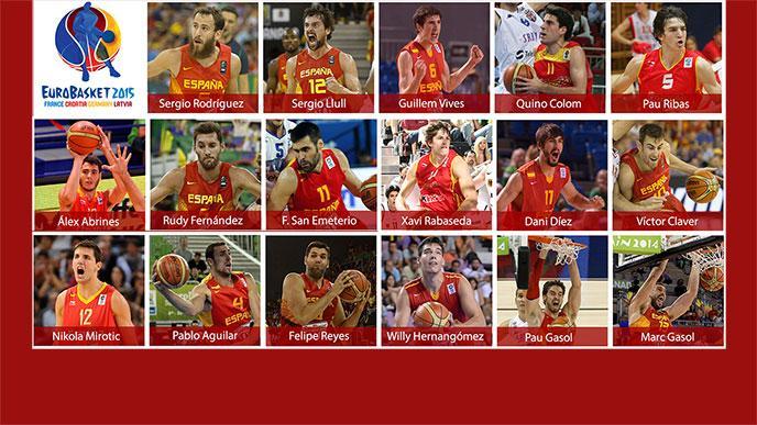 lista convocados España