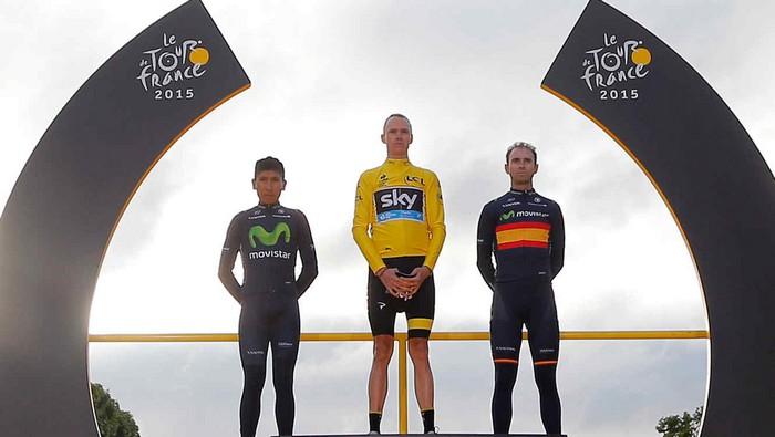 Vencedores en el Tour de Francia 2015