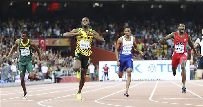 Bolt, el más rápido en Pekín