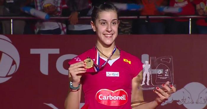 Carolina Marín gana el Mundial de Badminton