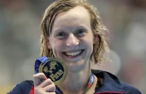 Ledecky, la reina de la natación