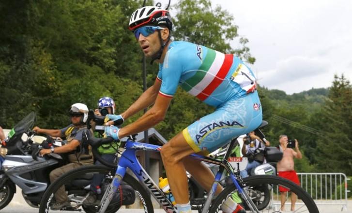 Níbali es expulsado de La Vuelta