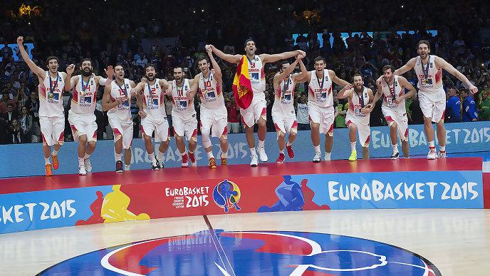 España oro en el Eurobasket 2015