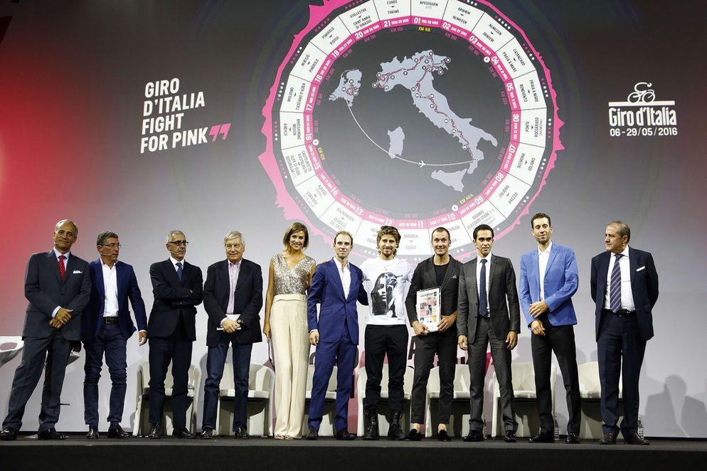 Recorrido del Giro de Italia 2016