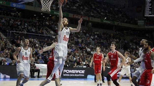 El Real Madrid a un paso del descalabro en la Euroliga