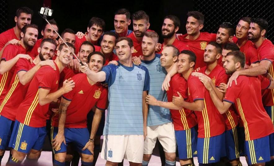 Camiseta de España para la Eurocopa