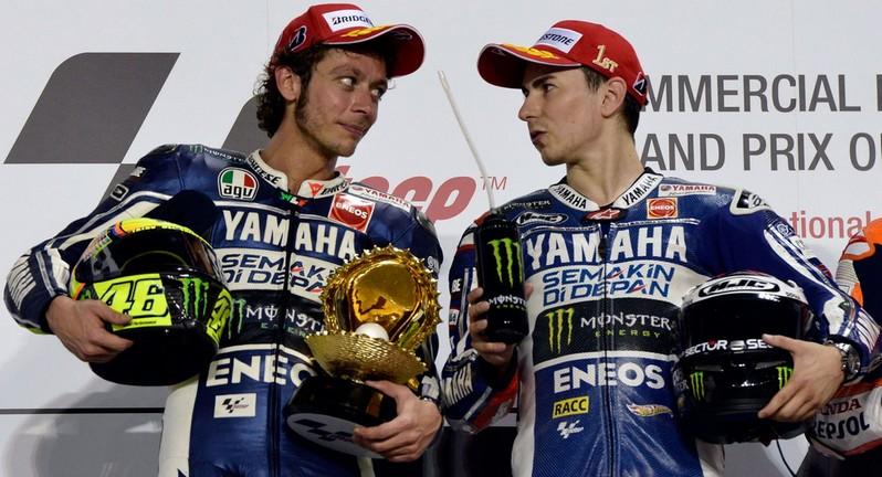 Posibilidades de Rossi y Lorenzo para ganar el Mundial