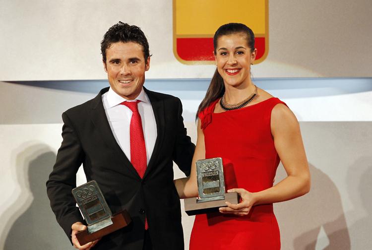 Carolina Marín y Gómez Noya mejores deportistas del año