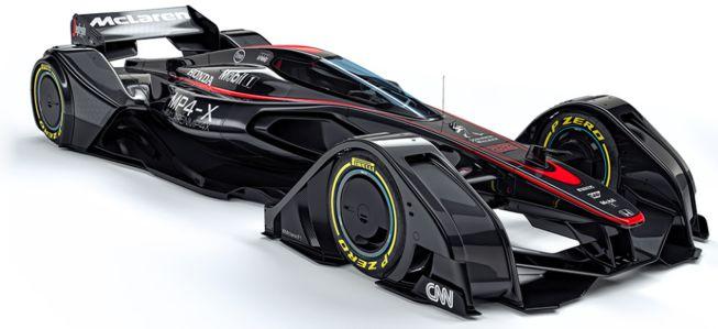 McLaren lanza un prototipo para la F1
