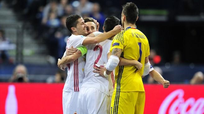 España en semifinales del Europeo de Fútbol Sala