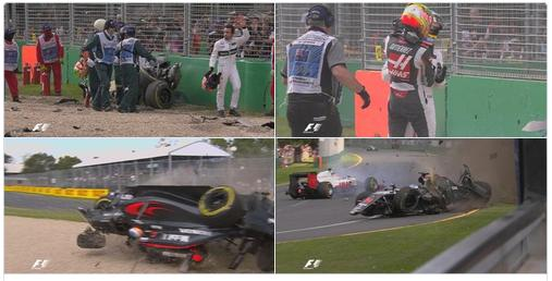 Accidente de Alonso en Australia