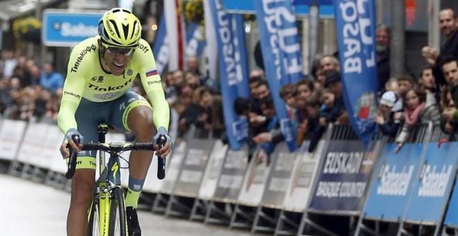 Contador gana Vuelta País Vasco