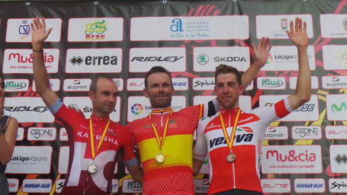 Rojas campeón de España en ruta