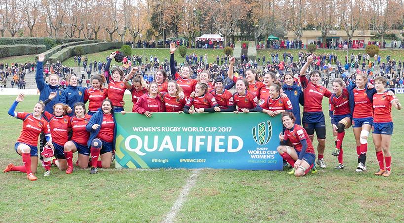 España en el mundial de rugby femenino 2017
