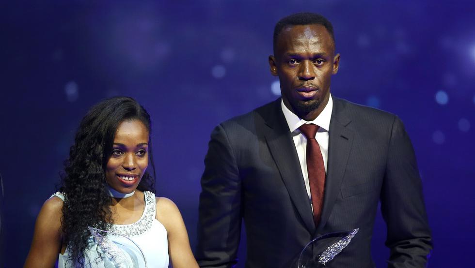 Bolt y Ayana, atletas del año