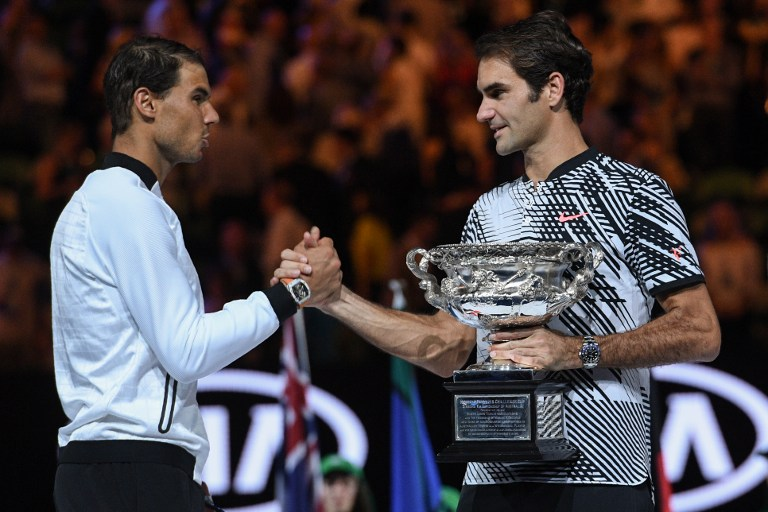 Federer vence a Nadal en Australia