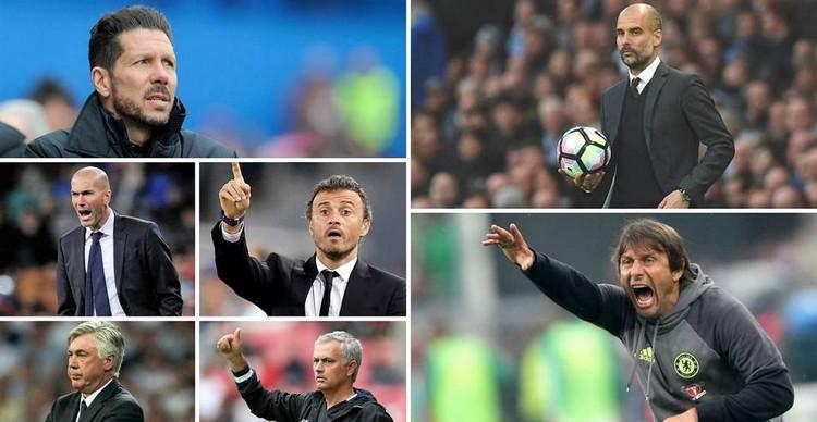 Los 50 entrenadores mejores de fútbol