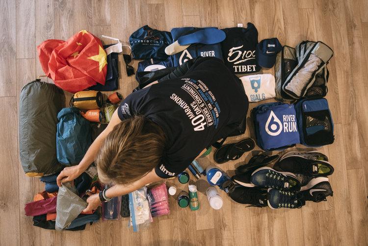 40 maratones en 40 días