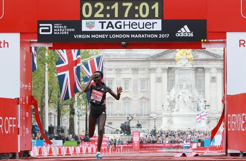 Récord mundial en el maratón de Londres