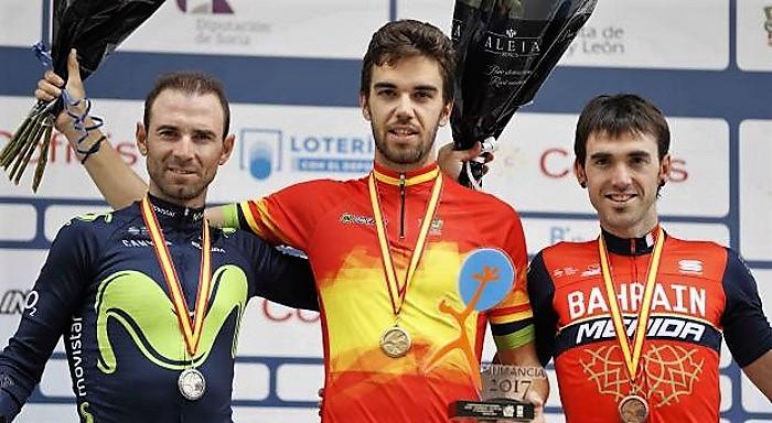 Herrada campeón de España de ciclismo
