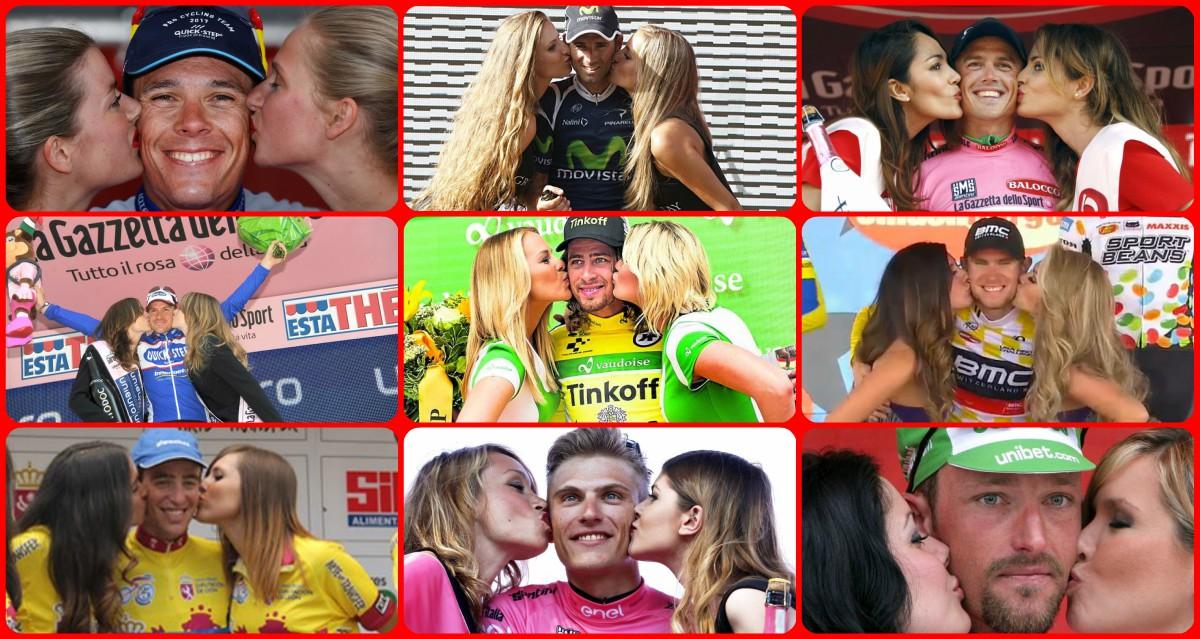 Se acabaron los besos a los ganadores en La Vuelta