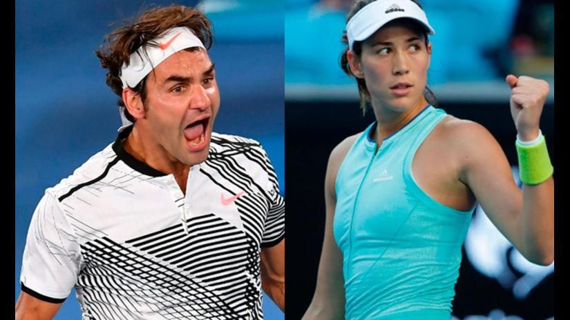 Muguruza y Federer favoritos en la final de Wimbledon