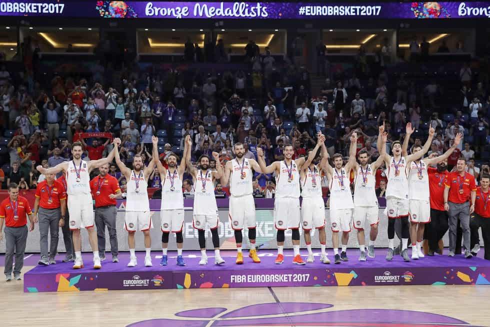 España bronce en el Eurobasket