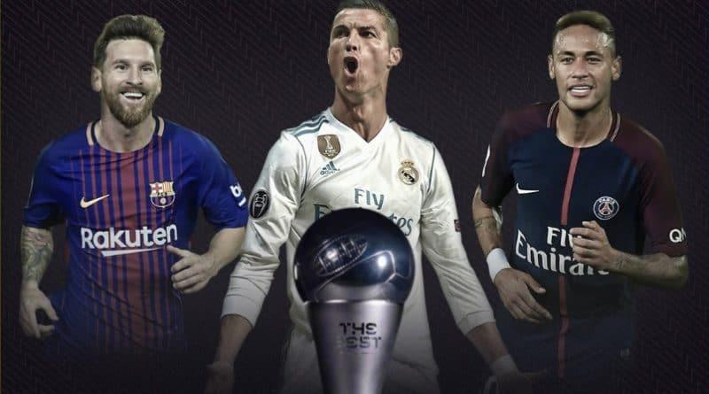 Finalistas premios FIFA 2017