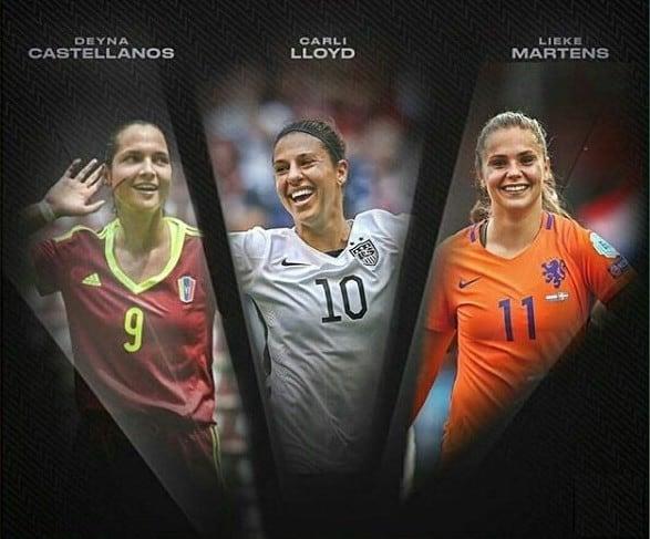 Finalistas FIFA
