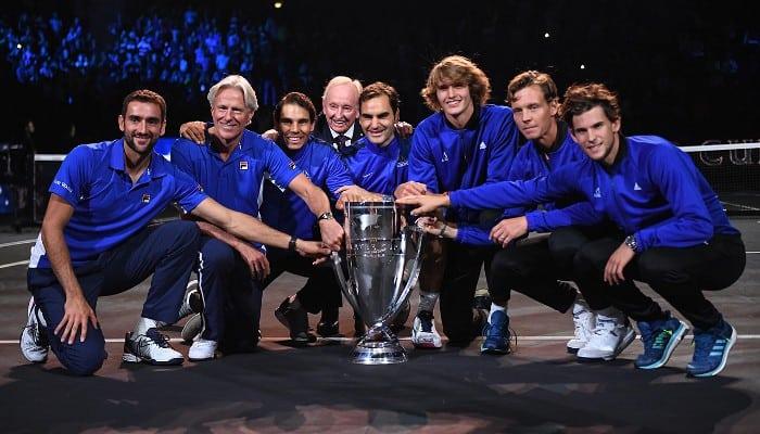 Europa gana la Laver Cup de tenis
